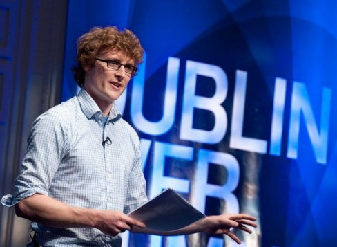 Paddy Cosgrave: eircom Spider Awards 2013.
