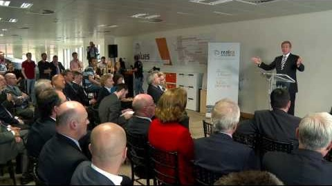 Enda Kenny Opens Realex Payments Offices